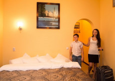 Отель Роза -Хутор | Нижний Новгород Стандартный двухместный номер с 1 кроватью или 2 отдельными кроватями