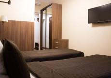 СТАСОВ (м. Василеостровская) Стандартный двухместный номер с 1 кроватью или 2 отдельными кроватями