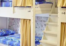 Хостел Квартира 31 Железнодорожный вокзал Кровать в общем 6-местном номере для мужчин и женщин