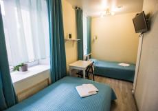 СТАРАЯ МОСКВА (м. Китай-город, Кремль) Стандартный двухместный номер с 2 отдельными кроватями собственной ванной комнатой - ул. Маросейка,13, строение 2