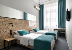Library Беларусская Улучшенный двухместный номер с 1 кроватью или 2 отдельными кроватями