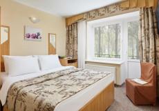 Парк-отель ЗВЕНИГОРОД | г. Звенигород | Парковка Стандартный двухместный номер с 1 кроватью - Здание 4