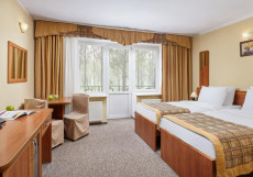 Парк-отель ЗВЕНИГОРОД | г. Звенигород | Парковка Улучшенный двухместный номер с 2 отдельными кроватями - Здание 4