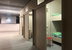 Лофт отель Охта-ЗАКРЫТ    м. Ладожская   WI-Fi Небольшой двухместный номер с 2 отдельными кроватями