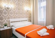 Happy | м. Чеховская | Wi-Fi Двухместный номер с 1 кроватью и собственной ванной комнатой