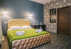 Happy | м. Чеховская | Wi-Fi Двухместный номер Делюкс с 1 кроватью или 2 отдельными кроватями