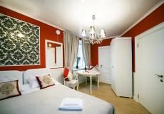Арт на Репина | м. Спортивная-2 | Wi-Fi Двухместный номер с 1 кроватью или 2 отдельными кроватями