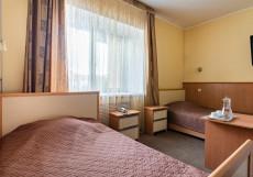 Милена | Казань | Парковка Улучшенный двухместный номер с 2 отдельными кроватями