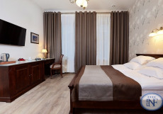 Бутик - отель Северный Цветок | м. Владимирская | Wi-FI Делюкс с одной большой двуспальной кроватью