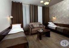 Бутик - отель Северный Цветок | м. Владимирская | Wi-FI Делюкс с двумя раздельными кроватями