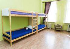 BEDANDBIKE S48 | м. Садовая | Wi-Fi Спальное место на двухъярусной кровати в общем номере для женщин
