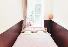 Астра на Басманном | м. Красные ворота | Wi-Fi Двухместный номер с 1 кроватью и собственной ванной комнатой