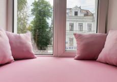 Астра на Басманном | м. Красные ворота | Wi-Fi Стандартный двухместный номер с 1 кроватью и общей ванной комнатой