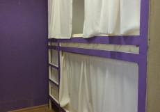 Плед на Самотёчной | м. Цветной бульвар | Wi-Fi Кровать в общем номере с 5 кроватями