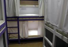Плед на Самотёчной | м. Цветной бульвар | Wi-Fi Кровать в общем номере на 9 гостей