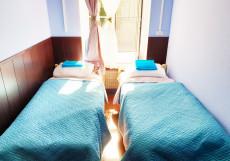 Астра на Басманном | м. Красные ворота | Wi-Fi Двухместный номер с двумя кроватями. Собственная  ванная комната