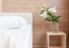Ахоум на Окружно-ВРЕМЕННО ЗАКРЫТ | м. Окружная | Wi-Fi Бюджетный двухместный номер с 1 кроватью или 2 отдельными кроватями
