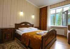 Кавказ (Катание На Лыжах) - Красивый Вид  Стандартный двухместный номер с 1 кроватью (1 этаж)