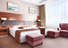 Виктория Олимп Отель и Бизнес-Центр Минск - Отличное Расположение Стандартный двухместный номер с 2 отдельными кроватями