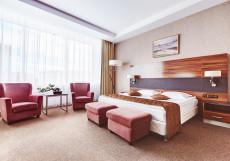 Виктория Олимп Отель и Бизнес-Центр Минск - Отличное Расположение Стандартный двухместный номер с 1 кроватью