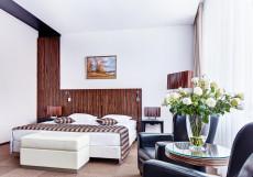 Виктория Олимп Отель и Бизнес-Центр Минск - Отличное Расположение Двухместный номер Делюкс с 1 кроватью