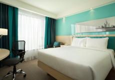 Хэмптон Бай Хилтон Строгино - Hampton by Hilton Moscow Strogino Номер с кроватью размера «queen-size»