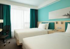 Хэмптон Бай Хилтон Строгино - Hampton by Hilton Moscow Strogino Двухместный номер с 2 отдельными кроватями