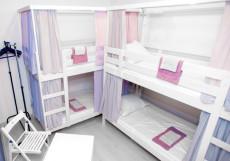 Friendhouse (В Центре) - Доступные Цены Кровать в общем номере (6 кроватей)