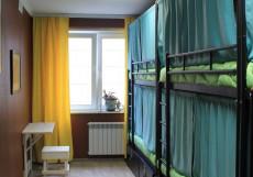 Арт Хостел Ван Гог (Павшино) - Яркий Дизайн Кровать в общем 6-местном номере для женщин