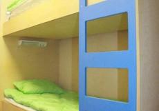Арт Хостел Ван Гог (Павшино) - Яркий Дизайн Бюджетный двухместный номер с 1 кроватью