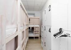 Centeral Hostel (В Центре) - Доступные Цены Нижнее спальное место на двухъярусной кровати в шестиместном общем номере для мужчин и женщин