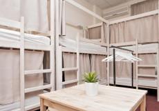 Centeral Hostel (В Центре) - Доступные Цены Верхнее спальное место в общем 12-местном номере для мужчин и женщин