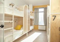 Netizen | Нетизен (Курский Вокзал) - Доступные Цены Кровать в общем 8-местном номере