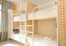 Netizen | Нетизен (Курский Вокзал) - Доступные Цены Кровать в общем 14-местном номере для мужчин и женщин