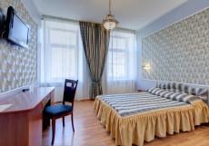 АТРИУМ (В Центре) - Стильные Номера Стандартный двухместный номер с 1 кроватью или 2 отдельными кроватями
