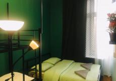 Travel Inn Красные ворота (Казанский Вокзал) - Доступные Цены Семейный номер с общей ванной комнатой