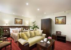 Измайлово Вега - гостиница в Москве, отель BEST WESTERN VEGA Люкс бизнес 2-комнатный с большой кроватью