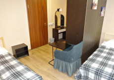 Комфорт На Полярной - Недорогие Номера  Кровать в общем номере для мужчин с 4 кроватями