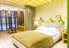 Зеленый театр Большой двухместный номер с 1 кроватью