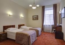Соло на Большой Московской 1 - Уютные Номера Стандартный двухместный номер с 2 отдельными кроватями
