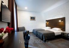 Никитин - Отличное Расположение Номер-студио с кроватью размера