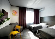 Никитин - Отличное Расположение Двухместный номер с 1 кроватью или 2 отдельными кроватями и ванной комнатой