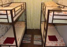 Дворик - Отличное Расположение Кровать в общем номере для мужчин с 4 кроватями