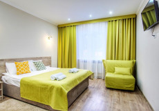 Корона Дом отдыха - Доступные Цены Двухместный номер с 1 кроватью и видом на горы