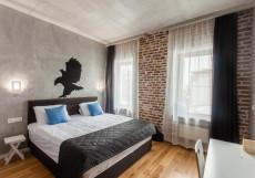 Ред Брик - Red Brick Китай-город - Стильный Интерьер Большой двухместный номер c 1 кроватью или 2 отдельными кроватями