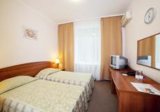 Гостиница, отель Ирбис Максима в Москве 2-местный Твин-Дабл