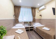 Мини отель Покровский (рядом больница № 1 РЖД) Стандартный двухместный номер с 2 отдельными кроватями