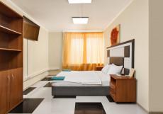 Мини-отель Сходненская Крокус | Moscow Crocus Бюджетный двухместный номер с 1 широкой кроватью