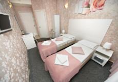 TIME HOTEL - ТАЙМ ОТЕЛЬ (Птичий Рынок Садовод) Улучшенный 2 раздельные кровати