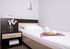 Маринс Парк Отель Нижний Новгород (рядом с Нижегородской ярмаркой) Стандартный одноместный номер